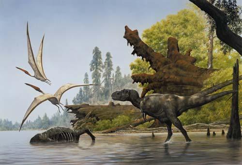 Gigadino - Les dinosaures carnivores Dinosaurs T Rex